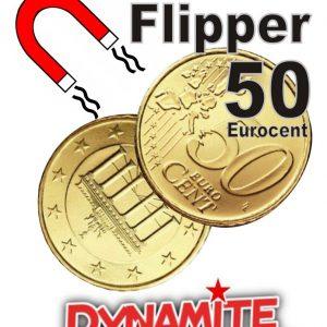 Flipper Coin DMS 50 Eurocent Magnetisch (1074)