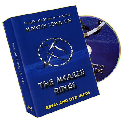 McAbee Rings - Gold Rings and DVD - by Martin Lewis