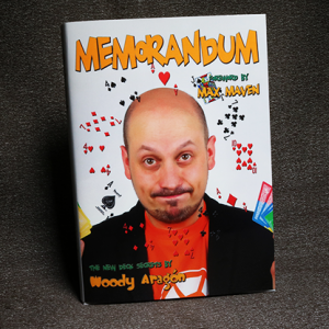 Memorandum Boek by Woody Aragon (B0330)