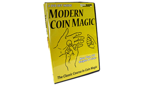 Modern Coin Magic DVD-Set (DVD328)