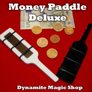 Money Paddle Deluxe & Video by Dynamite Magic Shop (4278)