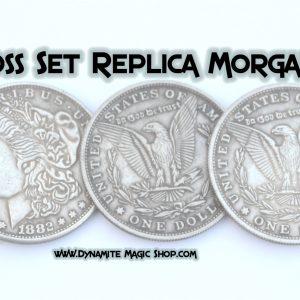 Coins Across Morgan Dollar (Replica) Set & Online Video (4143)