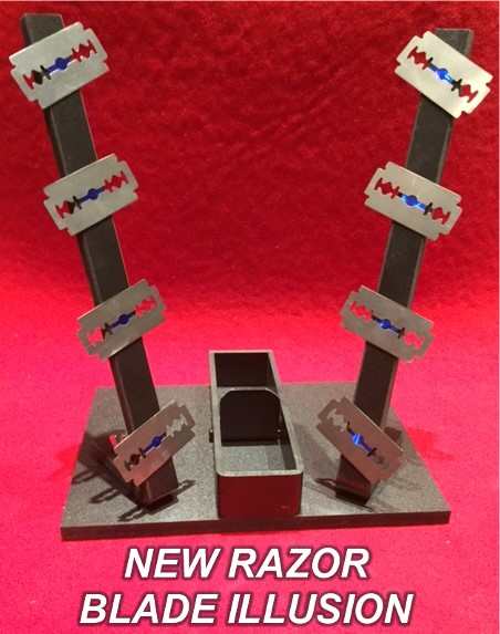 New Razor Blade Illusion (4349-Z8)