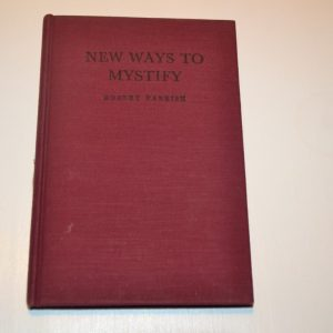 New Ways to Mystify Book by Robert Parrish - USED