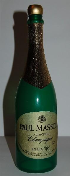 Verdwijnende Champagne Fles by Norm Nielssen (0168M7)