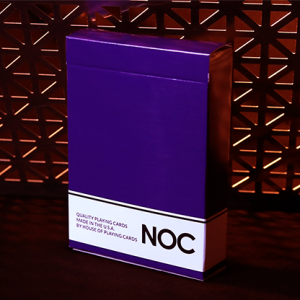 NOC Original Deck Purple by USPCC (4007)