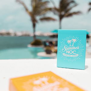 NOC Limited Edition Summer Blue Playing Cards