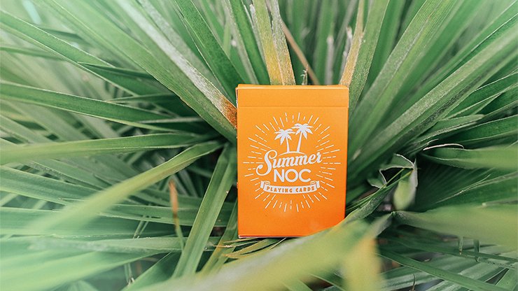 NOC Limited Edition Summer Orange Playing Cards