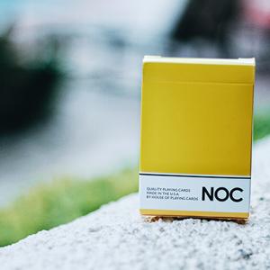 NOC Original Yellow Deck by USPCC (4004)