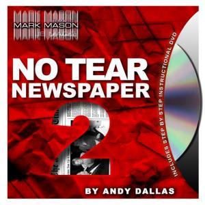 No Tear Newspaper 2 from JB Magic (3055-w6)
