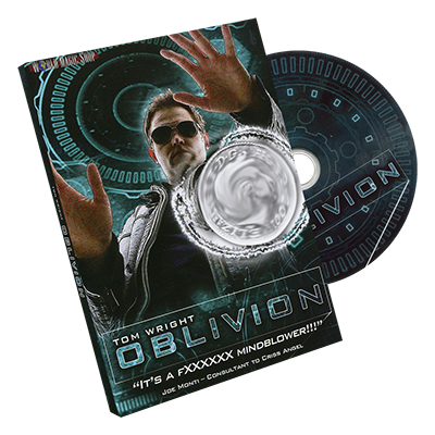 Oblivion by Tom Wright and World Magic Shop (DVD751)