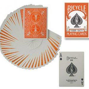 Bicycle Poker Spel Oranje (1871)