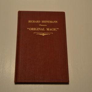 Original Magic by Richard Heinemann Book - USED