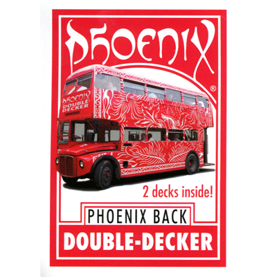 Phoenix Double Decker Cards Red (3157)