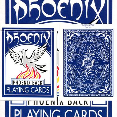 Parlour Deck Gemerkt Phoenix Blauw (4568)
