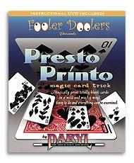 Presto Printo Trick (DVD896)