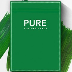 Pure Noc Playing Cards GREEN by TCC and HOPC (4674)
