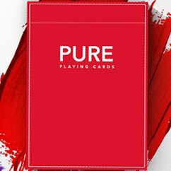 Pure Noc Playing Cards RED by TCC and HOPC (4677)