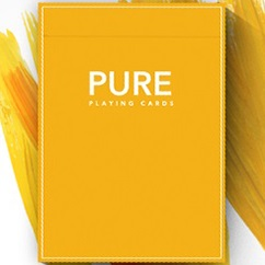 Pure Noc Playing Cards YELLOW by TCC and HOPC (4678)