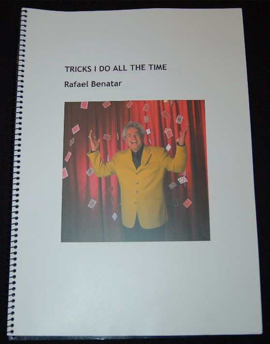 Tricks I do All the Time by Rafael Benatar Lecture Notes