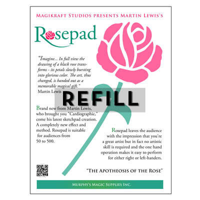The Rose Pad REFILL by Martin Lewis (3519Z7)