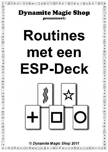 Routines met een ESP Deck Boekje (B0216)