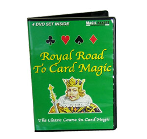 Royal Road To Card Magic DVD Set (DVD301)