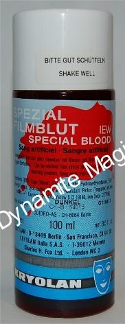 Kunstbloed Kryolan 100 ml (KR4001)