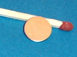 Magneet neodymium Rond 10 x 1 mm (1431)