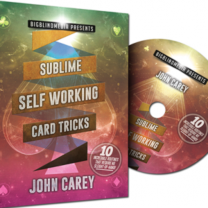 Sublime Self Working Card Tricks by John Carey DVD (DVD966)