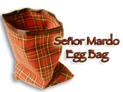 Senor Mardo Egg Bag Rood (4142-X1)