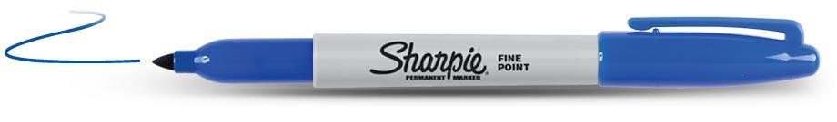 Sharpie Permanent Blauw (1124)