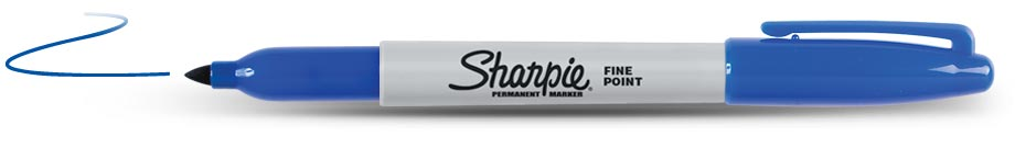 Sharpie Permanent Blauw (1124)