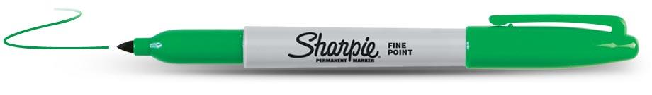 Sharpie Permanent Groen (1125)