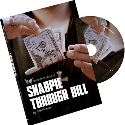 Sharpie Through Bill by Alan Rorrison and SansMinds (DVD956)