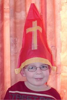 Paper Hat Tear Sint Nicolaas Mijter (1210)