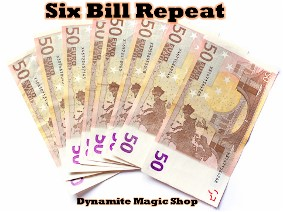 Six Bill Repeat 50 Euro (1043)