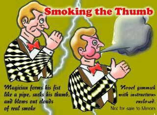 Smoking the Thumb (1172)