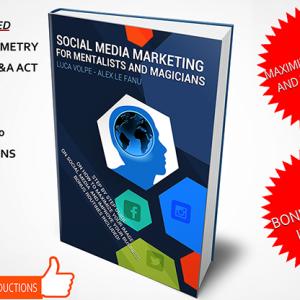 Social Media Marketing for Mentalists and Magicians Boek (B0329)