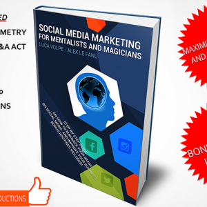 Social Media Marketing for Mentalists and Magicians Boek (B0329)