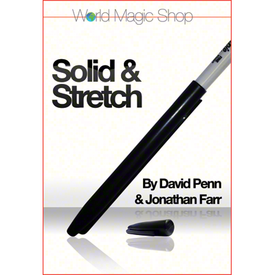 Solid and Stretch (DVD and Gimmicks) by David Penn (DVD812)