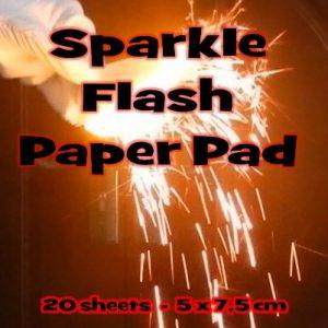 Flash Paper Pad Sparkle (1121)