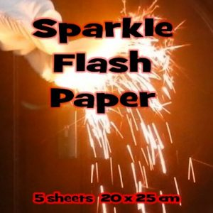 Flash Paper Sparkle Middel 5 vellen (1120)
