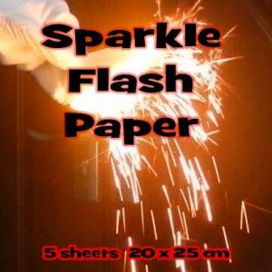 Flash Paper Sparkle Middel 5 vellen (1120)