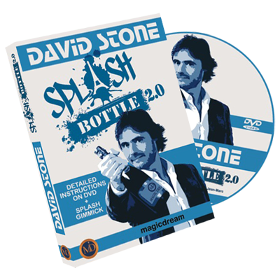 Splash Bottle 2.0  by David Stone & Damien Vappereau (DVD789)
