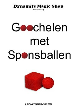 Goochelen met Sponsballen Boekje (B0113)