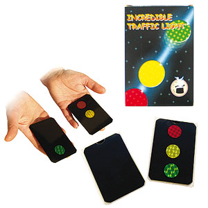 Stoplight Cards / Incredible Traffic Light (1422)
