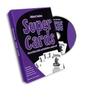 Super Cards DVD by Richard Sanders (3249)