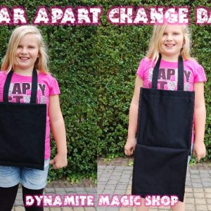 Tear Apart Change Bag with Handle (w8)