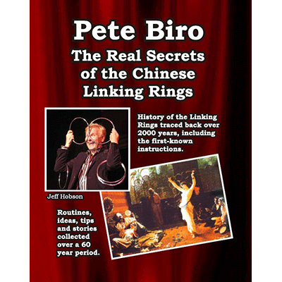 Real Secrets of the Chinese Linking Rings Boek (B0250)